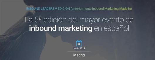 5ª edición Inbound Leaders. @ Espacio COEM | Madrid | Comunidad de Madrid | España