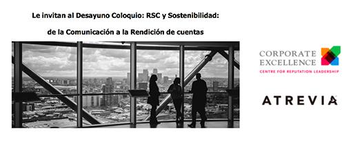 RSC y Sostenibilidad: de la Comunicación a la Rendición de cuentas @ Corporate Excellenge | Madrid | Comunidad de Madrid | España