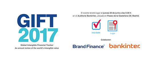 Global Intangible Financial Tracker 2017 @ Auditorio Bankinter | Madrid | Comunidad de Madrid | España