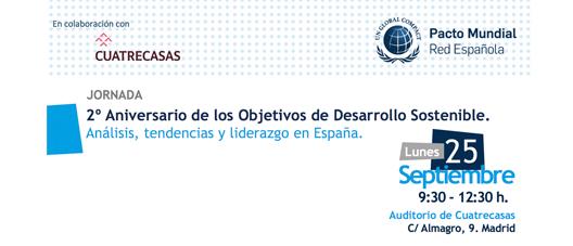 Segundo aniversario de los objetivos de desarrollo sostenible @ Cuatrecasas  | Madrid | Comunidad de Madrid | España