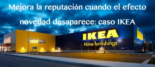 Mejora la reputación cuando el efecto novedad desaparece: caso IKEA @ Sede Dircom | Madrid | Comunidad de Madrid | España
